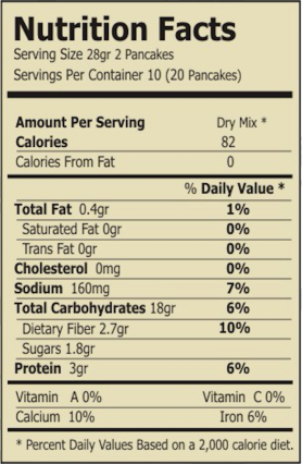 regular beet and quinoa mix nutrition facts